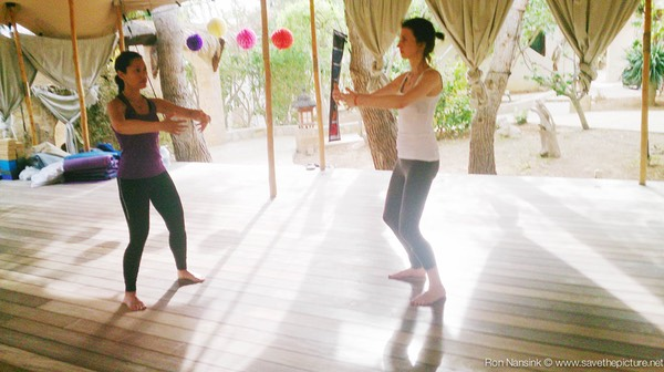Zenmax energizing intermezzos ritsuzen at Afkes magic parents and kids yoga retreat Ibiza
