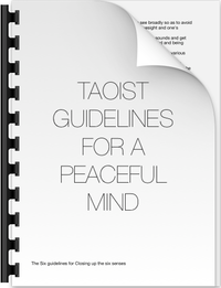 ZenmaX Taoist Guidlines for a peaceful mind